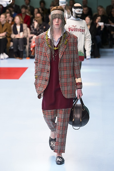 new products 512d7 8d145 2018/19AW Milan - Gucci|Fashion|madame FIGARO.jp(フィガロ ...
