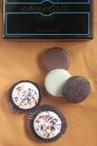 オレオクッキーのチョコレートがけ