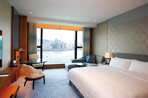 リゾート感たっぷりの、香港のラグジュアリーホテル。