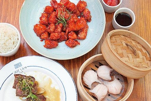 ニューヨークならではの、多国籍なオリジナル中華料理。