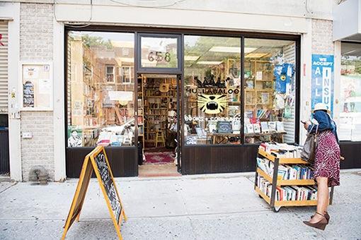 ブルックリンらしさが息づく、町の本屋さん。