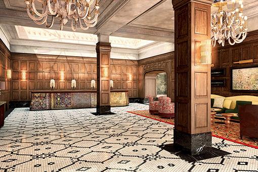 ロウワーイーストサイドの栄華を体現する豪華なホテル。