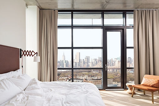 NYの注目エリア、クイーンズのホテルにステイしよう。
