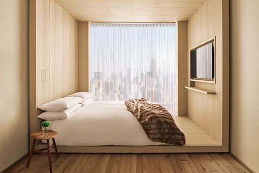 話題のホテルは、ニューヨーカーたちの新しい社交場。