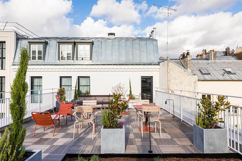 ル・グラン・カルティエは庭&カフェ&ショップ&ホテル!