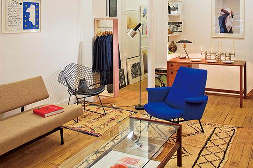 パリで人気の書店による、アートのコンセプトショップ。
