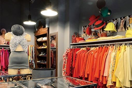 ヴィンテージ文化を伝える、パリモード人の愛用店。