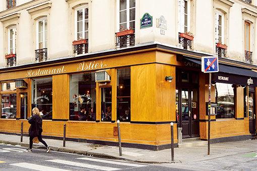 80年代にブームを巻き起こした、パリの老舗ビストロ。
