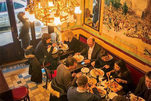 19 世紀創業! いまも昔もパリっ子が愛するビストロ。