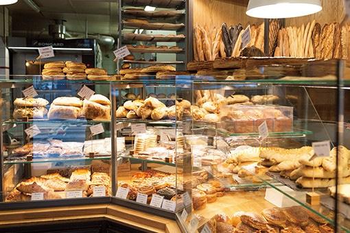 ラデュレ出身のふたりが手がける、パリの小さなパン屋さん。
