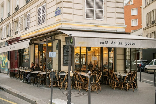 パリ・北マレ住民が愛おしむ、レトロなカフェ。