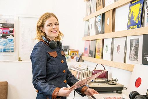 ドイツ発、ギャラリーのようなパリのレコード店。