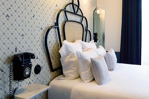 モダン×ヴィンテージのセンスが光る、パリのホテル。