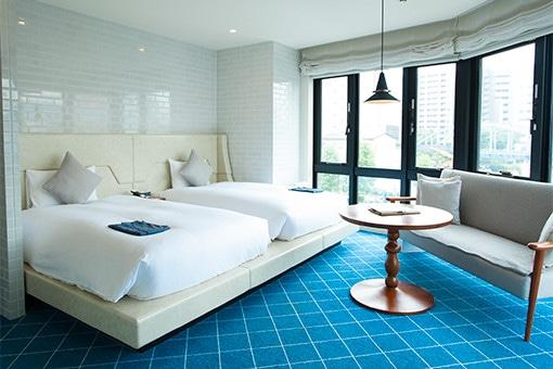 多彩な使い方ができる、カジュアルなホテル。