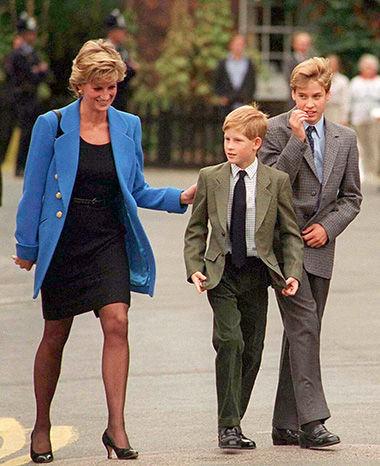 英王子が語る、母としてのダイアナ妃。 特集 Culture
