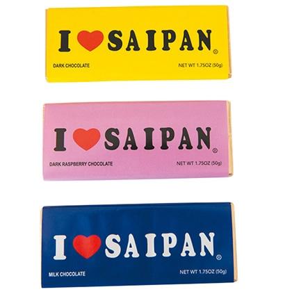 I ♡ SAIPANの板チョコ
